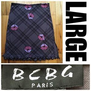 2️⃣for💲2️⃣0️⃣Sz L BCBG Skirt